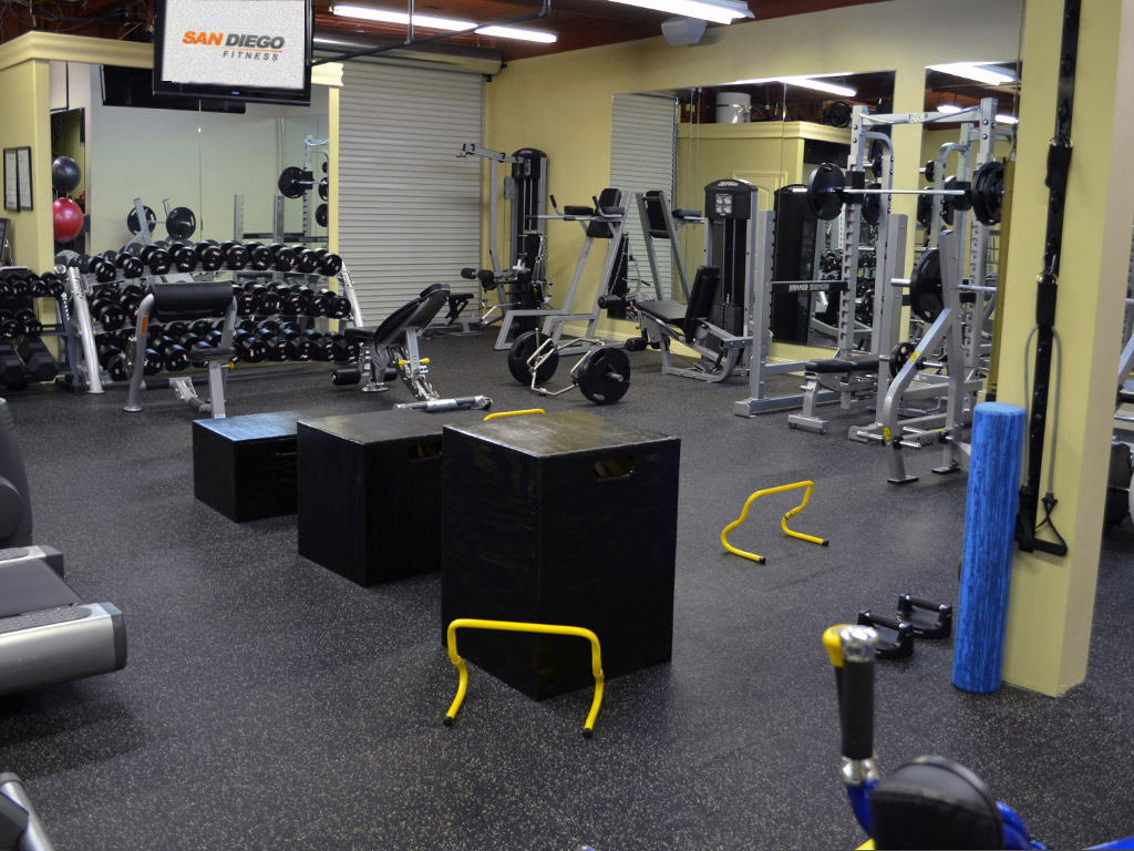 The training facility for Gimnasio fitness studio